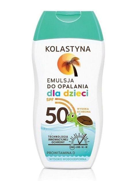 Kolastyna Opalanie Emulsja do opalania dla dzieci SPF 50  150 ml                              zdj.                              1