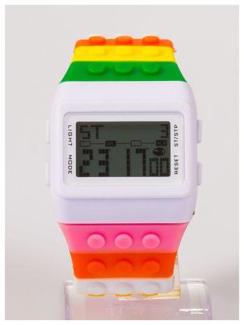 Kolorowy i modny elektroniczny zegarek unisex                                  zdj.                                  2