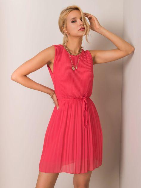 Koralowa sukienka Molly SUBLEVEL