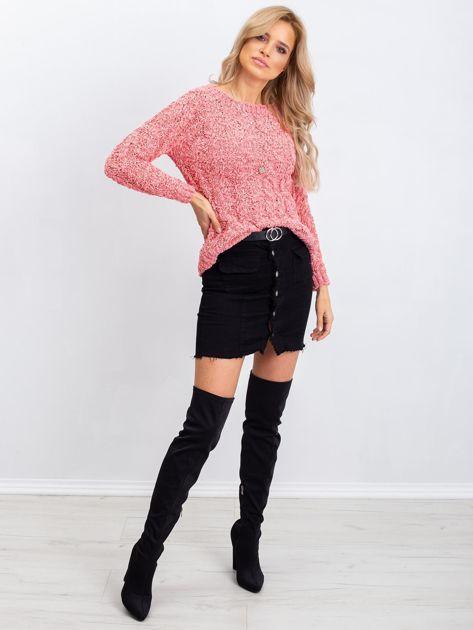 Koralowy sweter Jessica                              zdj.                              4