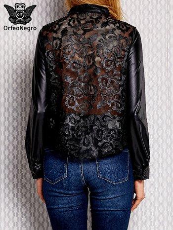 Koszula lateksowa czarna