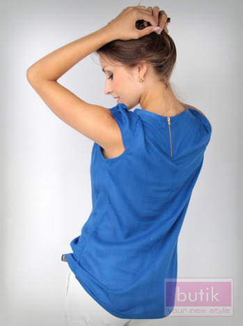 Koszula z suwakiem na plecach                                  zdj.                                  3