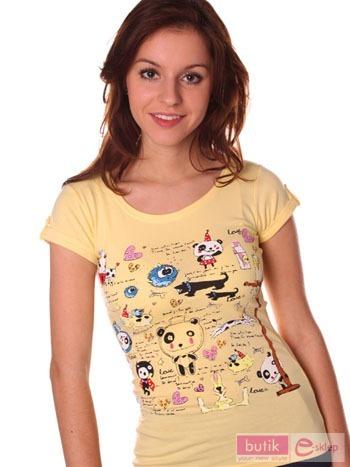 Koszulka z nadrukiem