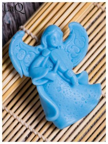 LaQ Mydełko Mały aniołek - niebieski / Zapach - wata cukrowa BEZ SLS i SLES                                  zdj.                                  1