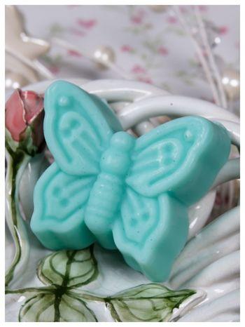 LaQ Mydełko Motylek - zielony / Zapach - jabłko i orzech BEZ SLS i SLES