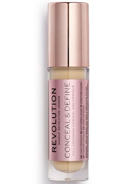 Makeup Revolution Conceal and Define Korektor w płynie C8.5 3,4ml