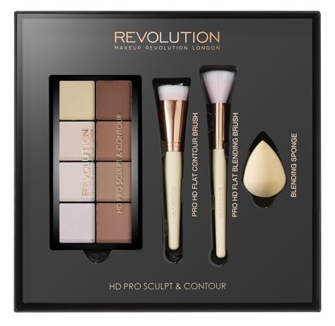 "Makeup Revolution HD Pro Sculpt & Contour Zestaw do konturowania twarzy  1op."""