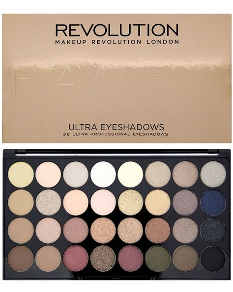 Makeup Revolution Ultra Palette Paleta 32 cieni Flawless 16g