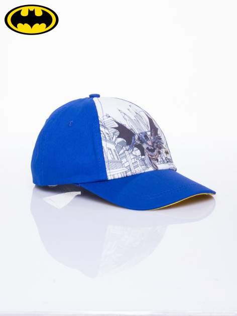 Niebieska chłopięca czapka z daszkiem BATMAN                                  zdj.                                  2