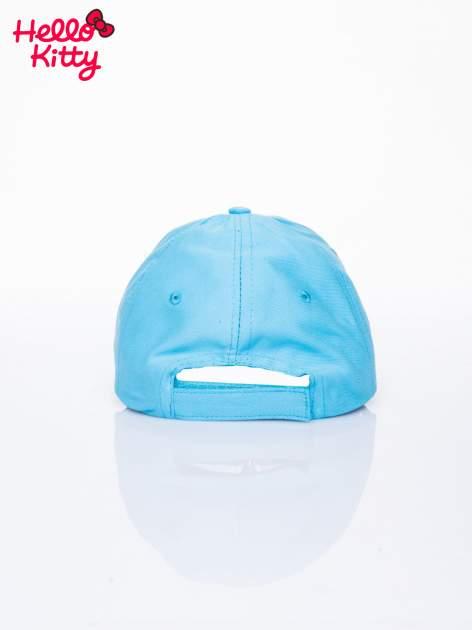 Niebieska czapka z daszkiem dla dziewczynki HELLO KITTY                                  zdj.                                  3