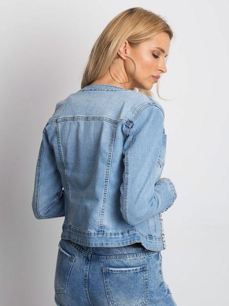 Niebieska kurtka jeansowa Off-duty                              zdj.                              2