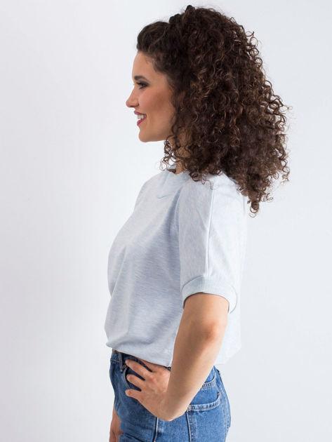 Niebieska melanżowa bluzka Lemontree                              zdj.                              5