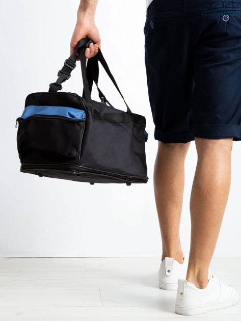 Niebieska męska torba treningowa                              zdj.                              2