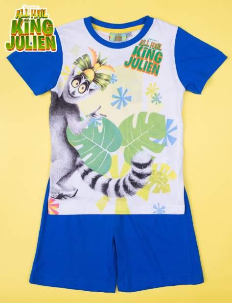 Niebieska piżama chłopięca KRÓL JULIAN                                  zdj.                                  1