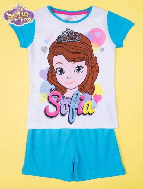 Niebieska piżama dla dziewczynki JEJ WYSOKOŚĆ ZOSIA