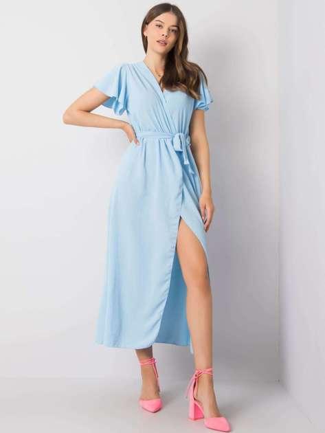 Niebieska sukienka Dorotea