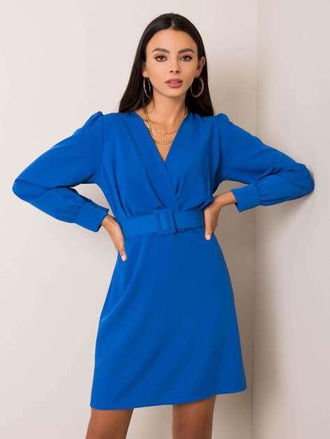 Niebieska sukienka Maisa