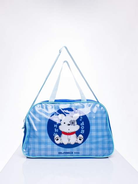 Niebieska torba dla dzieci DISNEY z pieskiem                                  zdj.                                  1