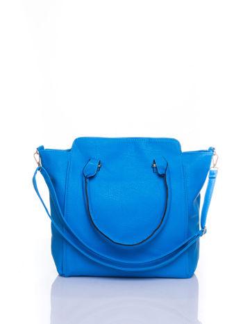 Niebieska torba shopper bag                                  zdj.                                  1