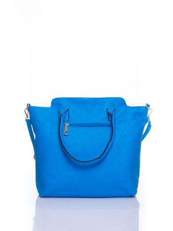 Niebieska torba shopper bag                                  zdj.                                  3