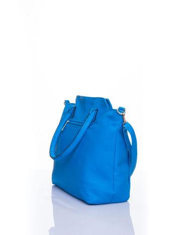 Niebieska torba shopper bag                                  zdj.                                  4