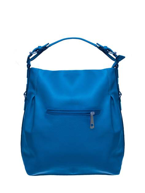 Niebieska torebka hobo na ramię                                  zdj.                                  2