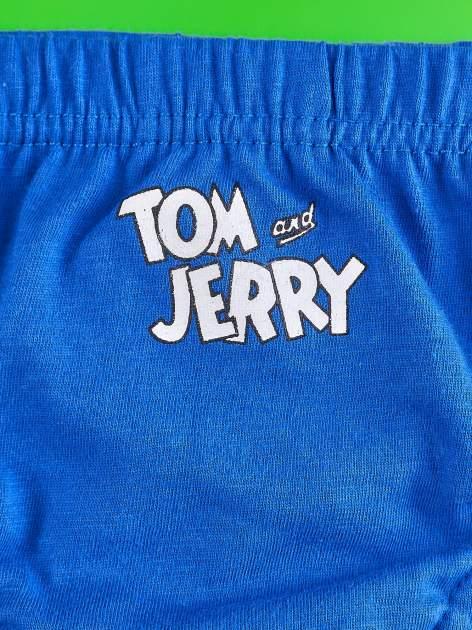 Niebieski chłopięcy komplet do spania TOM I JERRY                                  zdj.                                  8
