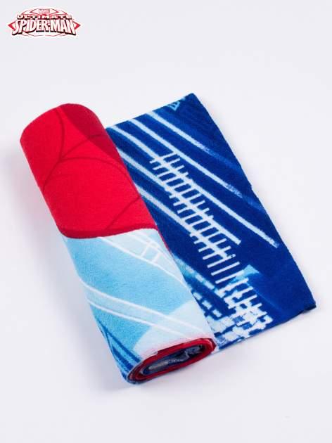 Niebieski chłopięcy ręcznik SPIDERMAN                                  zdj.                                  2
