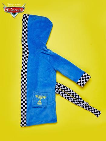 Niebieski chłopięcy szlafrok CARS                                  zdj.                                  2