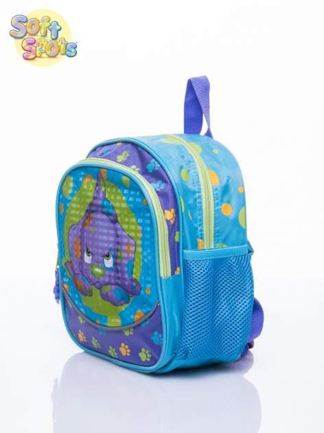 Niebieski plecak na wycieczkę DISNEY Soft Spots                                  zdj.                                  2