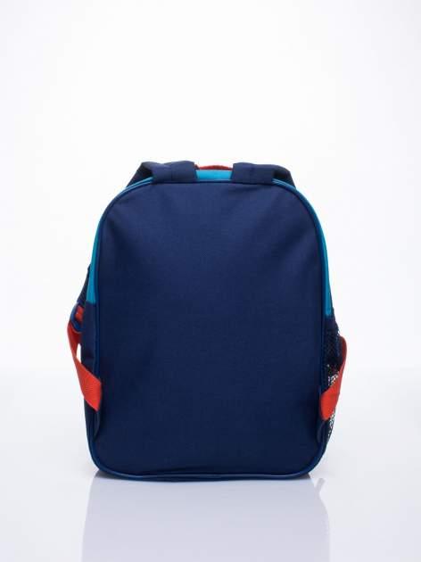 Niebieski plecak szkolny DISNEY w paski                                  zdj.                                  4