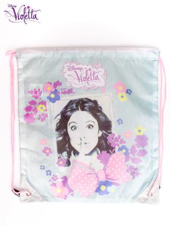 Niebieski plecak worek DISNEY Violetta                                  zdj.                                  3