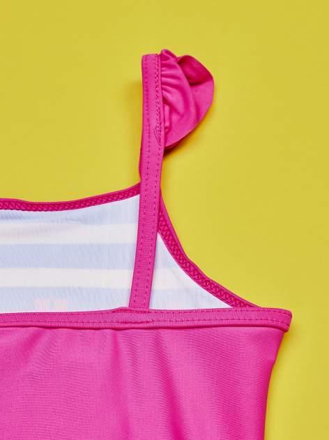 Niebieski strój kąpielowy w paski dla dziewczynki HELLO KITTY                                  zdj.                                  6