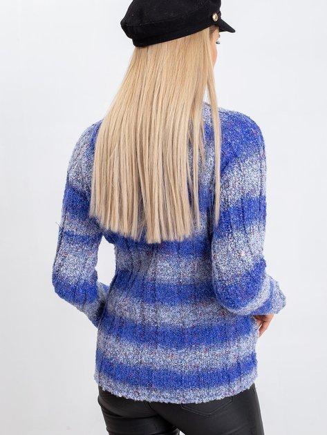 Niebieski sweter Madison                              zdj.                              2