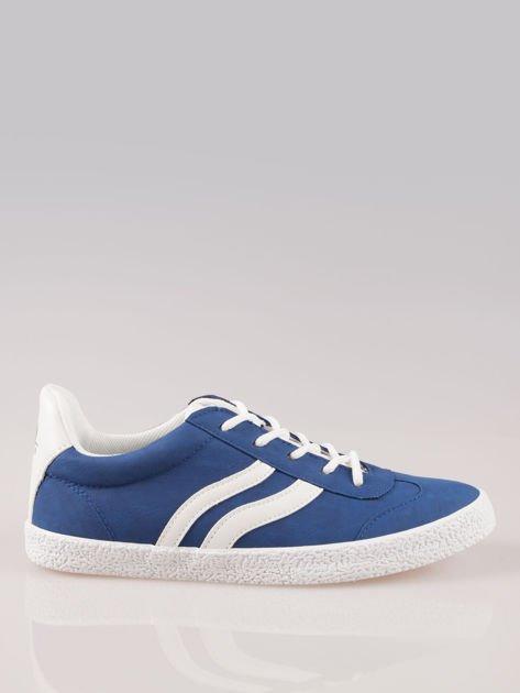 Niebieskie buty sportowe w stylu casual Kash