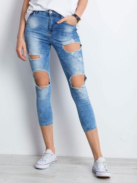Niebieskie jeansy Branch                              zdj.                              1