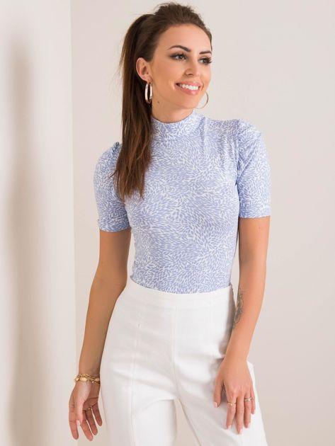 Niebiesko-biała bluzka Affie RUE PARIS