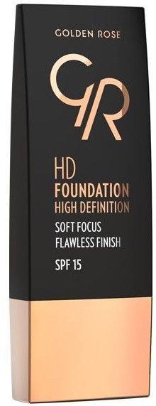 Nowość! GOLDEN ROSE Podkład HD soft focus 101 30 ml