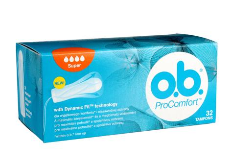 O.B.ProComfort Super komfortowe tampony 32 szt.