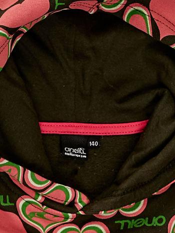 O'NEILL Różowa bluza dla dziewczynki w serduszka                              zdj.                              3