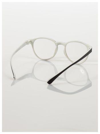 Okulary korekcyjne  +1.5 D dwukolorowe ,do czytania, stylizowane na RAY BAN +GRATIS PLASTIKOWE ETUI I ŚCIERECZKA Z MIKROFIBRY                                  zdj.                                  4