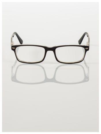 Okulary korekcyjne +1.5 D ,model WAYFARER do czytania z systemem FLEX na zausznikach +GRATIS PLASTIKOWE ETUI I ŚCIERECZKA Z MIKROFIBRY                                  zdj.                                  3