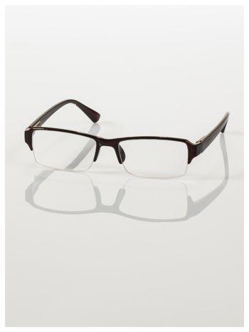 Okulary korekcyjne +2.0 D do czytania z systemem FLEX na zausznikach +GRATIS PLASTIKOWE ETUI I ŚCIERECZKA Z MIKROFIBRY                                  zdj.                                  3