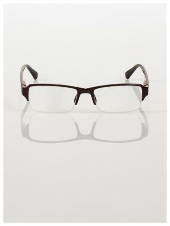 Okulary korekcyjne +2.5 D do czytania z systemem FLEX na zausznikach +GRATIS PLASTIKOWE ETUI I ŚCIERECZKA Z MIKROFIBRY                                  zdj.                                  3