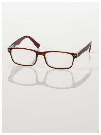 Okulary korekcyjne +2.5 D ,model WAYFARER do czytania z systemem FLEX na zausznikach +GRATIS PLASTIKOWE ETUI I ŚCIERECZKA Z MIKROFIBRY                                  zdj.                                  2