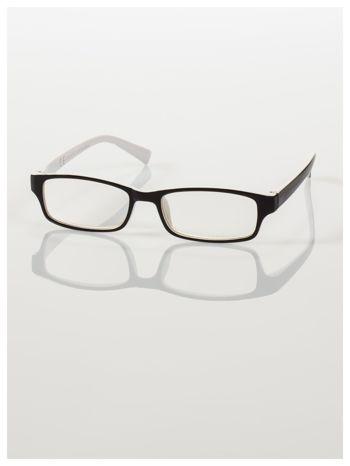 Okulary korekcyjne dwukolorowe do czytania +3.5 D