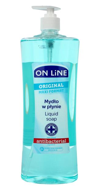 On Line Mydło w płynie z dozownikiem Antybakteryjne Original  1000 ml