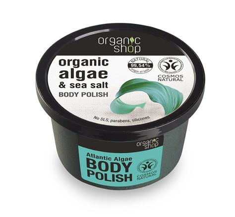 """Organic Shop Peeling do ciała Atlantyckie Algi 250 ml"""""""
