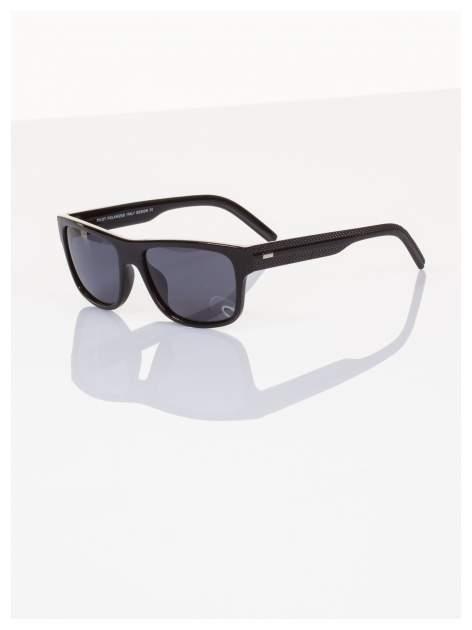 POLARYZACJA Ekskluzywne włoskie okulary typu NERD dla mężczyzn+GRATISY                                  zdj.                                  1