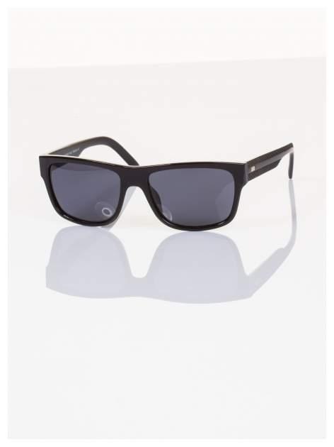 POLARYZACJA Ekskluzywne włoskie okulary typu NERD dla mężczyzn+GRATISY                                  zdj.                                  2